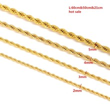 Bangrui Gold Filled Necklace Chain for Men and Women Necklace Bracelet  Gold Chain Necklace High Quality