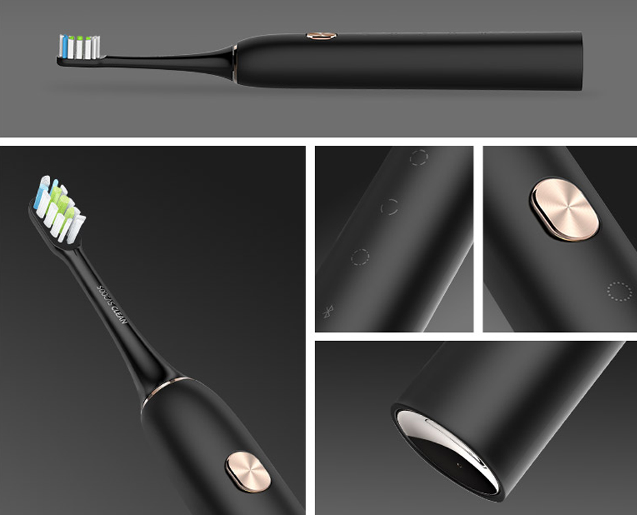Updated Xiaomi Sonic Soocare X3s Healthy Smart Electric Tooth brush Bluetooth Waterproof Four Clean Models Wireless Charge