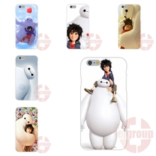 For Apple iPhone 4 4S 5 5C SE 6 6S 7 7S Plus 4.7 5.5 Soft TPU Silicon Covers Cases Japan Big Hero 6 Flying Baymax s