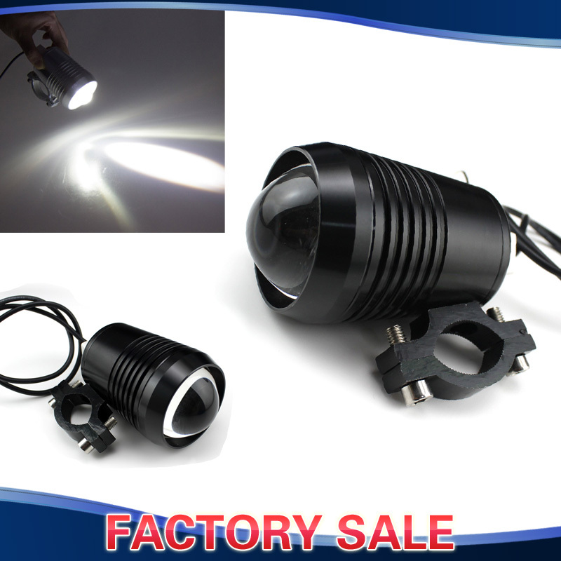 12V 30W CREE U2 LED Motorcycle Car Headlight Waterproof DRL Day Light Fog Lamp For Bicycle Motorcycle Car Boat Travel Camp Lamp<br><br>Aliexpress