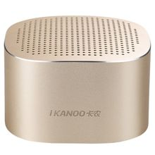 Top Deals IKANOO charged gold/silver alloy I-609 Bluetooth 4.0 portable card subwoofer small speakers