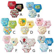 9pcs Reusable Baby Training Pants Infant Waterproof Pant Toddler Potty Underwear Newborn Boy Girl Swimming Diapers Nappy Panties(China)