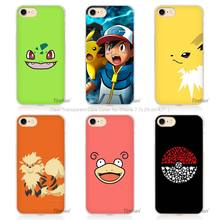 Hot sale Best Pokemons Hard Transparent Phone Case Cover Coque for Apple iPhone 4 4s 5 5s SE 5C 6 6s 7 Plus