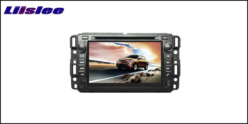 For Buick Enclave 2007~2017 LiisLee Car Multimedia TV DVD GPS Audio Hi-Fi Radio Original Style Navigation 2