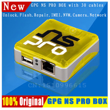2017  GPG  Newest  100% Original  Ns Pro Box /NSPRO  For Samsung Cell Phones Unlock&Repari&Flash&IMEI, With 30 cables