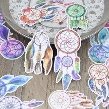 27 шт. рисунок акварелью dreamcather хороший dreamcathers Скрапбукинг Наклейки цветочный растения DIY Craft decorativ Стикеры pack(China)