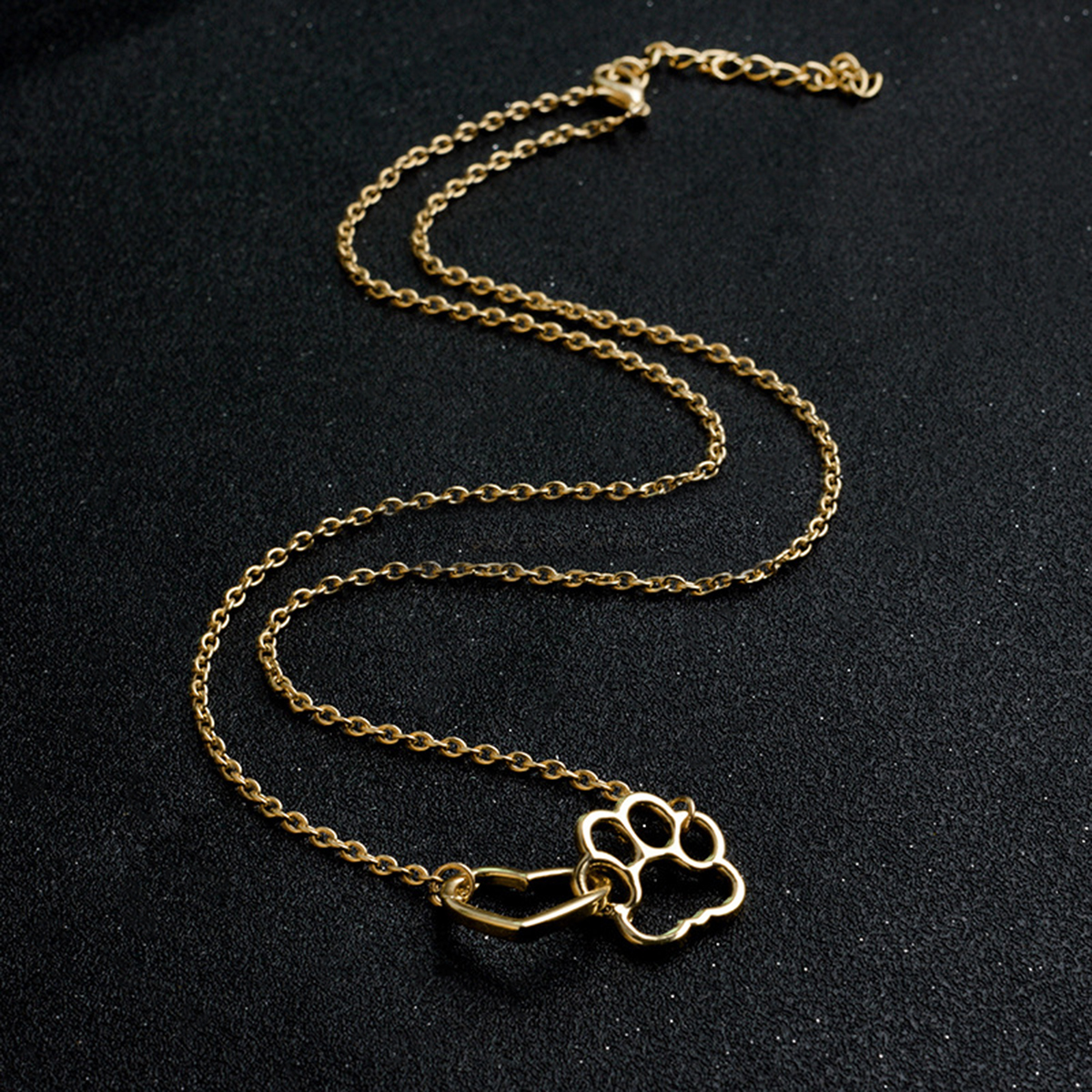 SALE HOLLOW PET PAW FOOTPRINT NECKLACES FOR CAT LOVERS-Cat Jewelry-Free Shipping SALE HOLLOW PET PAW FOOTPRINT NECKLACES FOR CAT LOVERS-Cat Jewelry-Free Shipping HTB1iLEXRpXXXXXPXVXXq6xXFXXXJ