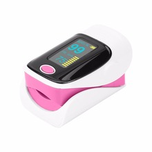 Portable Finger Tip Pulse Oximeter Double Color OLED Display Modes Blood Oxygen Saturation Monitor Lanyard Box health care