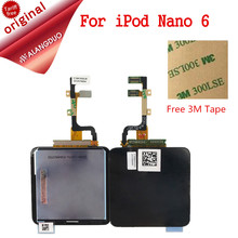 ALANGDUO  LCD Display For iPod Nano 6 6th 6G Touch Screen LCD Display Full Assembly Replacement Parts for Apple iPod Nano 6