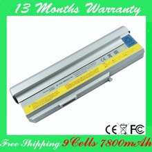 Free shipping! 9cells Laptop battery for Lenovo 3000 N100 Series (7800mAh) 92P1186 92P1185 40Y8315 40Y8317 92P1183 KB3011