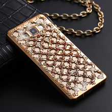 Luxury 3D Hollow Grid Bling Case for Samsung Galaxy S7 edge S6 S5 S4 S3 A3 A5 J5 J7 J3 2016 Grand Prime G531H Neo Plus I9060i