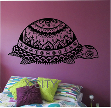 Turtle Wall Decal Vinyl Sticker Art Decor Home Bedroom Design Mural Hawaii Tribal