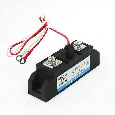 H3100Z Solid State Relay SSR AC-DC 100A 24-480VAC / 3-32VDC<br>