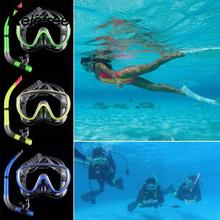 Relefree New Creative Mask Diving Equipment Anti Fog Goggles Scuba Snorkel Glasses Set Swimming Pool Driving Snorkel(China)