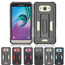 Buy Shockproof Luxury Hybrid Tough Jazz Armor Defender Case Cover Samsung Galaxy J3 2016 J320 J320F J320P J3109 J320M J320Y/Sol for $2.54 in AliExpress store