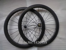 Buy 1pair Newest 700C 50mm dimple shape clincher rim Road bike carbon bicycle wheelset Powerway R36 carbon hubs ceramic bearing for $506.33 in AliExpress store