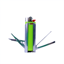 French BIC Multifunction Tools Lighter Stainless Steel case Explosion proof tools lighter sets