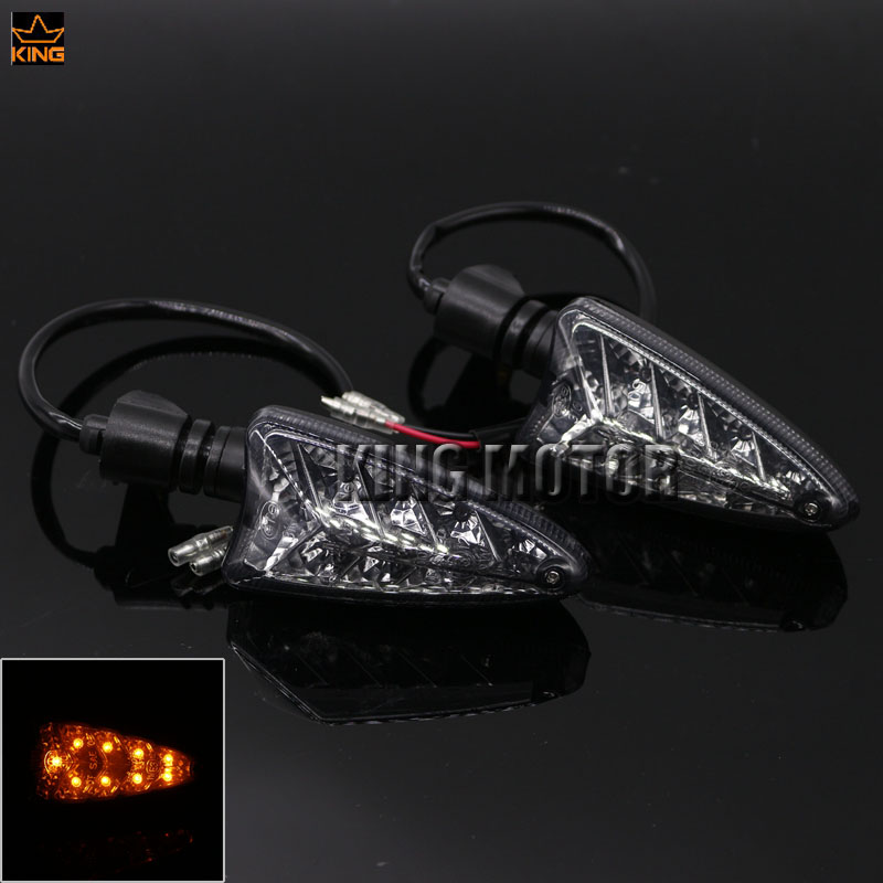 For BMW F800GS F800R F800S G650GS F800 GS Motorcycle Accessories Blinker LED Turn Signal Indicator Light Smoke<br>