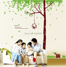 Family Tree Large wall decal home decoration Vinyl Mirror Wall Stickers bathroom bedroom decor art poster Removable wallpaper