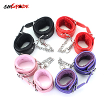 Buy Smspade Sex Toys Cuffs Handcuffs Bondage Sex Chastity Sex Gloves Slave Restraints Speeltjes Handcuff Bdsm Sex Products Faux Fur