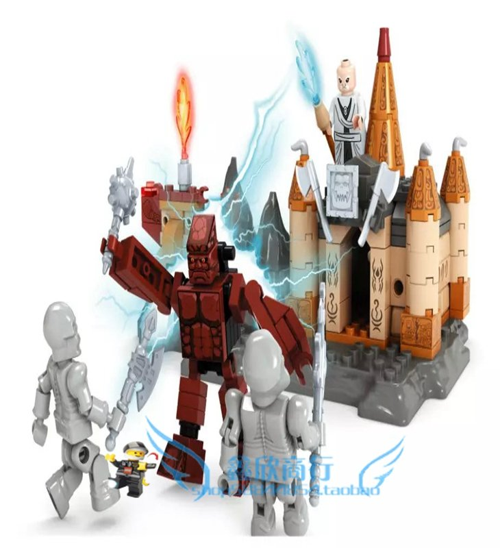 Ausini model building kits compatible with lego city castle 540 3D blocks Educational model &amp; building toys hobbies for children<br><br>Aliexpress