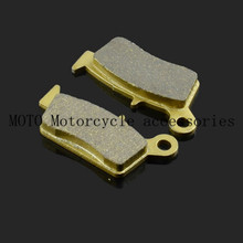 Motorcycle Rear Brake Pads For SUZUKI DR 125 2008 2009 2010 211 2012 RMX 250 RM 125 T/V/W/X/Y 1996 1997 1998 99-12 Brake Pads
