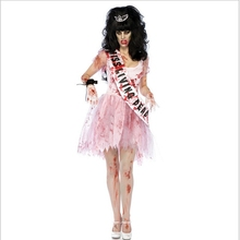 Halloween Zombie Costume Halloween Costume Party Ghost Bride Carnival Costume Fancy Dress