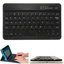 Universal High Quality Ultra Slim Multi-Media Wireless Bluetooth Keyboard for iOS Android PC for Windows for iPad 5 Air 3 Mini 2