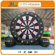 with shipping! 6m/20ft high single side Inflatable darts games,giant inflatable soccer/football/foot darts board
