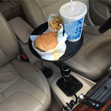 New High Quality Useful Car Auto Mount Holder Stand Travel Drink Cup Coffee Table Stand Food Tray 3 colors