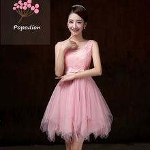 violet bridesmaid dresses short dress for wedding guests sister party formal dress prom dresses ROM80048