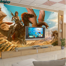 beibehang Large Custom Wallpaper 3D Game War Internet Cafe TV Wall Wall Decorative Painting
