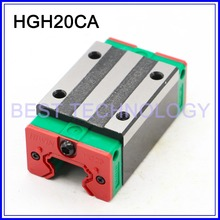Open Linear Bearing Slide Block HGH20CA for Square Linear Guide Rail HIWIN linear block carriage