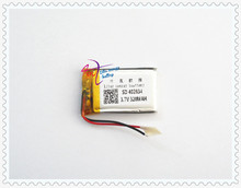 Factory Direct Sound driving record meeting dedicated lithium polymer battery 402834 320mAh(China)