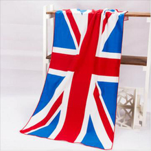 Bath Towel Summer Style Beach Towel UK Flag Dollar Print Toalla Playa High Quality Towel Swim Sea  serviette de plage