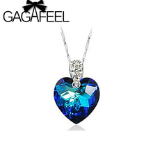2017 New Arrival Top Quality free shipping wholesale Genuine 100% sterling 925 silver heart of ocean pendant for lady AD31