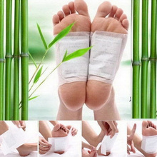 20 Pcs Detox Foot Patches Pads Toxins Feet Slimming Cleansing Herbal Body Health Adhesive Pads @ME88