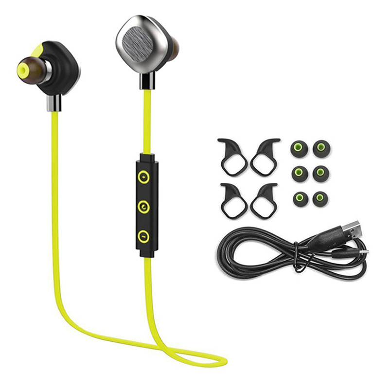 Morul U5 Plus IPX7 waterproof Sport Bluetooth earphones Stereo Bluetooth Headset BT4.1 Handfree Headphone With MIC<br>