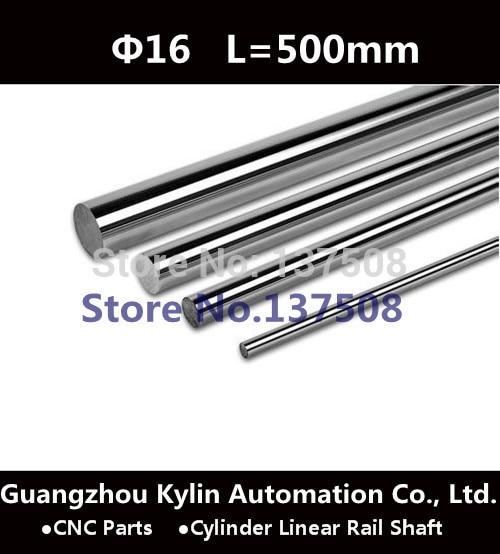 Best Sale! 2 pcs Diameter 16mm - L500mm Cylinder Linear Rail Shaft 16mm Linear Motion Shaft for CNC XYZ and 3D Printer<br><br>Aliexpress