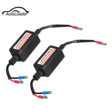 2Pcs H1 CANBUS LED Decoder Ballast Anti Flicker Error Warning Canceller Capacitor