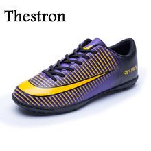 Thestron Indoor Soccer Shoes for Men 2017 New Mens Football Trainers Cheap Soccer Indoor Shoes Boys Shoes for Football