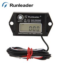 Waterproof RPM tach hour meter for GAS ENGINE MX RACING motorcycle marine jet ski chainsaw PIT BIKE lawn mower motorboat ATV