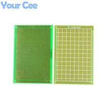 2pcs 12*18cm 12X18cm FR4 Single-Sided PCB Experiment Printed Circuit Board Epoxy Glass Fiber FR-4 Green Prototype Universal