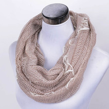 2015 lover scarf adult Women Infinity Scarf fashion autumn winter scarf men cotton warm soft scarves lady fine stripe Yarn dyed
