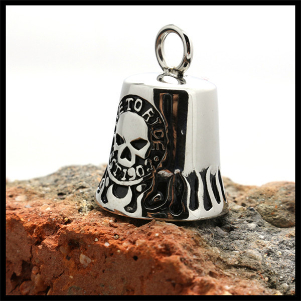 Steel Skull Quality BIKER GUARDIAN // RIDE BELL USA seller Live to Ride