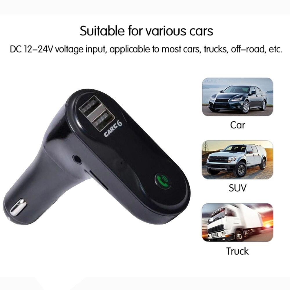 E0142 C6 Bluetooth Car MP3 Player-1