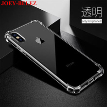 Ultra Thin Soft TPU Transparent Phone Cases For Apple iphone X Case For iPhone 7 8 6s plus 5 5s SE Case Clear Silicon Cover Capa(China)