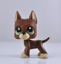 Without Magnet Pet Dog Child Girl Figure Toy Loose Cute Xmas LP965(China)