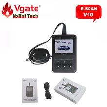 100% Original Vgate e-Scan V10 Auto Diagnostic-tool for All OBD2 Protocols/CAN Compliant Vehicle Automotive Code Reader Scanner