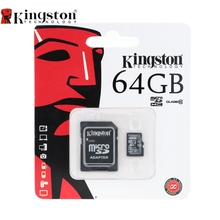 Kingston Class 10 8GB 16GB 32GB 64GB Micro SD Card 64 GB 32 GB 16 GB 8 GB TF Flash Memory Card Microsd With Card Adapter(China)